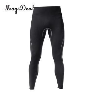 Image 4 - Mens 3mm Black Neoprene Wetsuit Pants Scuba Diving Snorkeling Surfing Swimming Warm Trousers Leggings TightsFull Bodys Size S XL