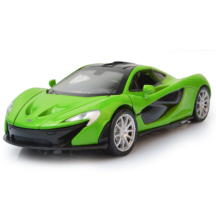 EFHH 1:32 McLaren P1 Alloy Vehicle Car Model Diecast Sound Lights Pull Back  Open Doors Classical Cars Random Color In Diecasts U0026 Toy Vehicles From Toys  ...
