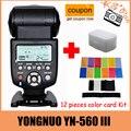 Yongnuo yn-560iii yn-560 iii yn 560 iii 2.4 ghz inalámbrico de disparo de flash speedlite para canon nikon envío libre con
