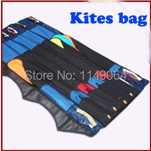 free shipping high quality170cm x 6plus kites bag used for dual line quad line power kite surf outdoor toys flying hcxkite 16 colors x vented outdoor playing quad line stunt kite 4 lines beach flying sport kite with 25m line 2pcs handles