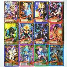 newest eb326 1e0cb 55pcs set Super Dragon Ball Z 9 in 1 Heroes Battle Card Ultra Instinct Goku