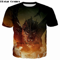PLstar Cosmos Jon Snow Game Of Thrones Printed 3D Men T Shirt Casual Men Tshirt Tops