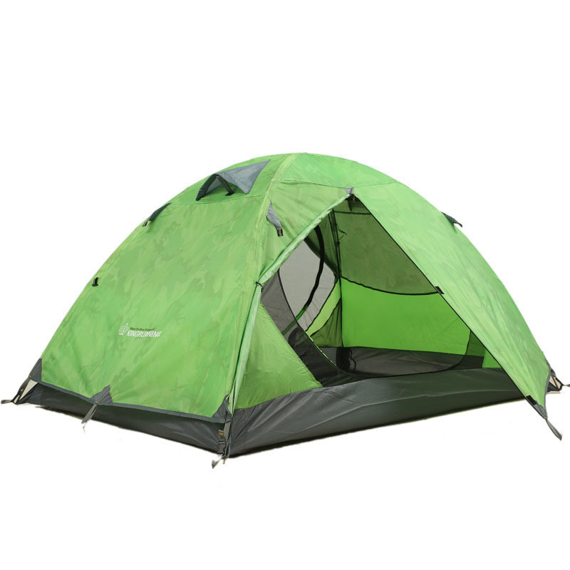 Sun Shade Beach Tent 3 Person Barraca De Camping  Hunting Travel Folding Tipi Waterproof  Tente Rainproof Portable Tenda Green outdoor double layer 10 14 persons camping holiday arbor tent sun canopy canopy tent