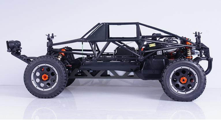 Completa Proteção Interna Roll Bar Gaiola para 1/5 HPI KM Rovan Baja Terminator 5 T 5SC T1000 Caminhão - 5