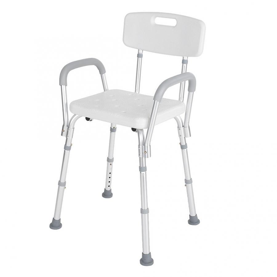 High Polyethylene Detachable Bath Shower Stool Safety Seat Pregnant Elderly Disabled Care Shower Stool