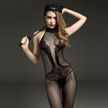 Novelty & Special Use Internal Sexual Hot Porn Mesh Lace Babydoll Dress Suit Open Crotch Lingerie Sexy Costumes Underwear Teddy