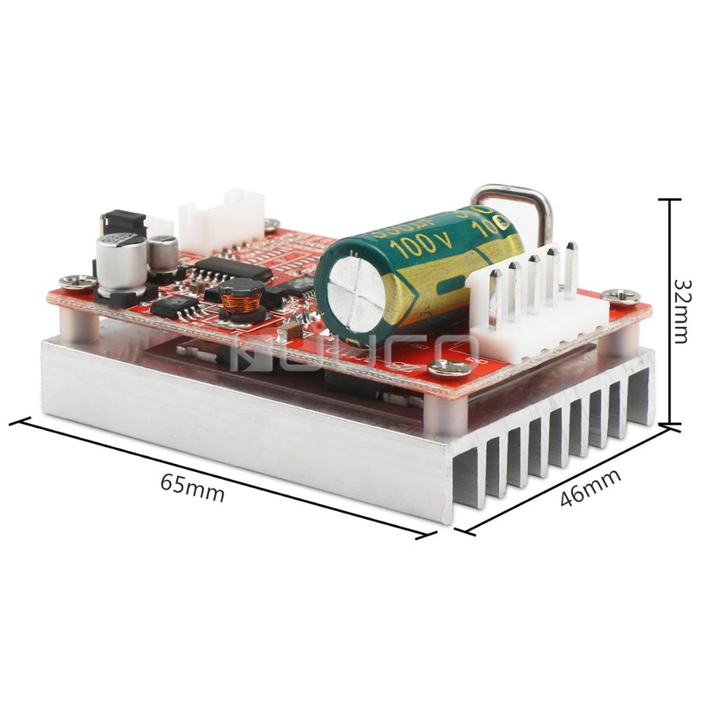 Brushless Sensored Motor Controller Board Motor Driver Regulator DC 5 36V 16A 350W BLDC Motor Controller Switch in Motor Controller from Home Improvement