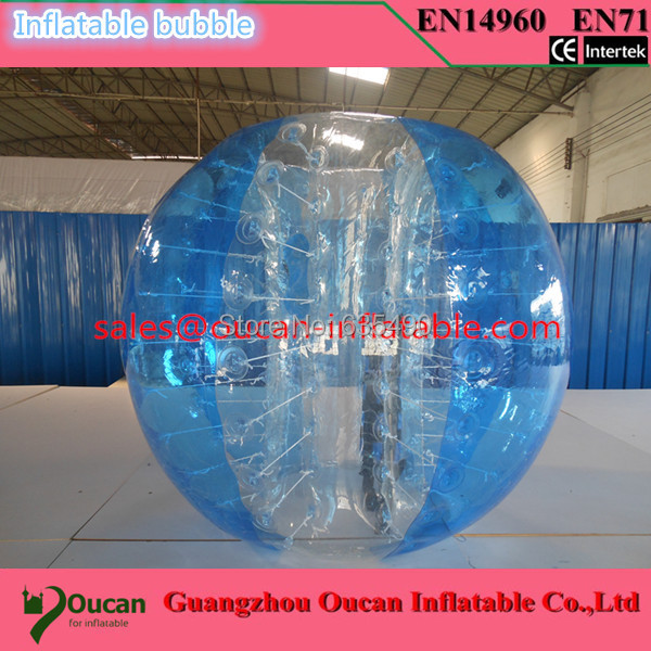 free shipping inflatable bubble soccer inflatable bubble football