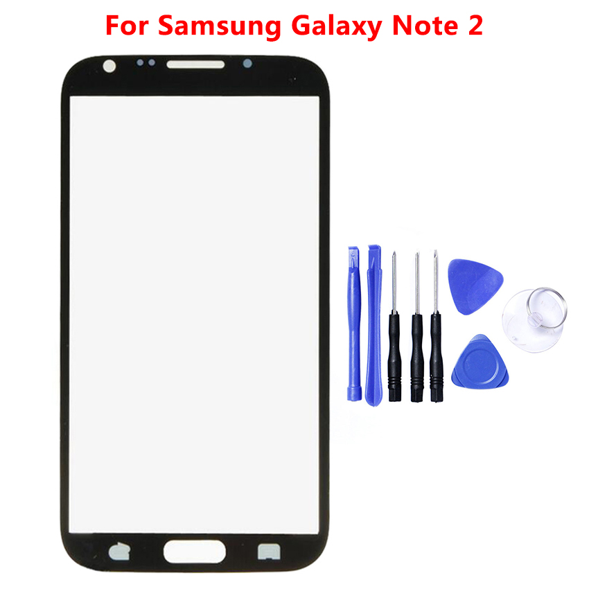 <font><b>LCD</b></font> For Samsung Galaxy Note 2 3 4 5 <font><b>N9000</b></font> N910 N920 Note4Note5 Touch Screen Sensor Front Panel Digitizer Glass Replacement image