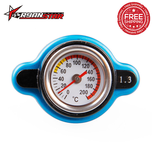 big head thermost radiator cap water temp gauge for 0 9 bar 1 1