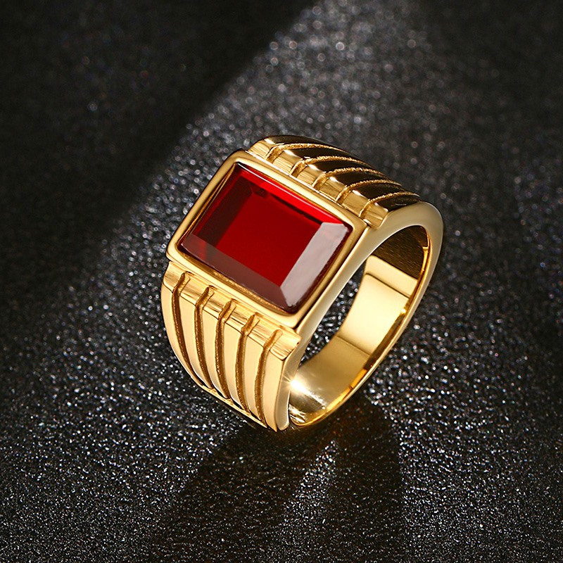 Buy Fashion Gorgeous Mens Rings Stainless