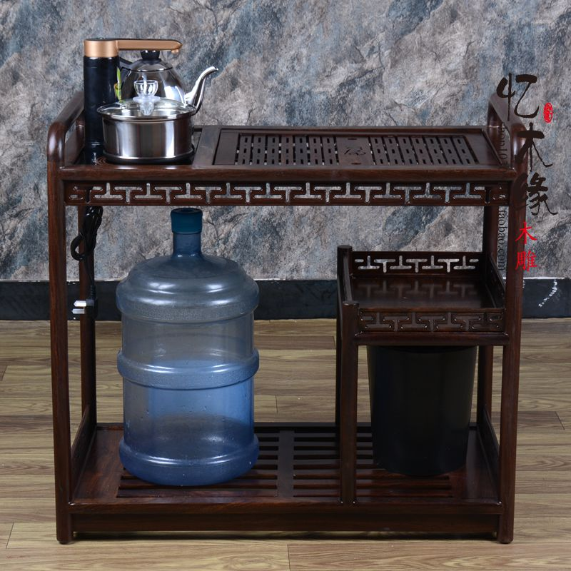 Rosewood furniture jakkalsbessie mobile trolley wood tea cart Kung Fu tea table tea cabinet table frame tea tea стоимость