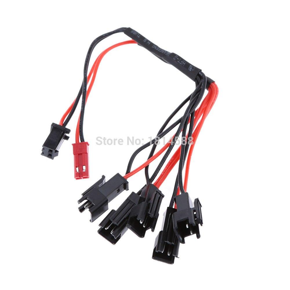 1 шт. набор 1-5 Multi-порт Батарея зарядный кабель для h8c f183 запасные части для RC Li-Po Батарея Dropshipping Бесплатная доставка