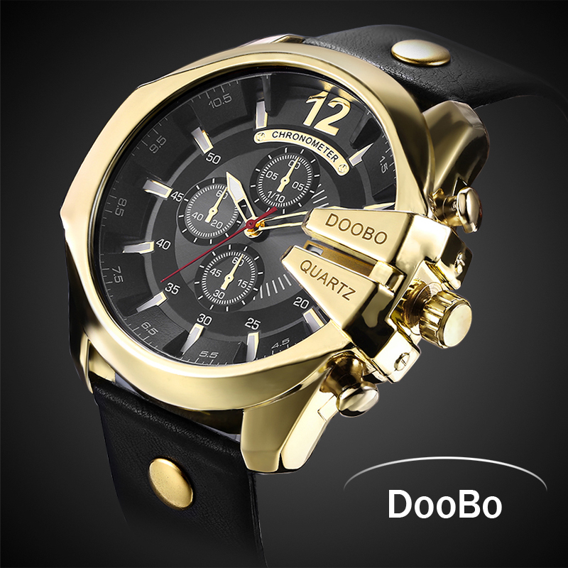 2018 Hot dropship Mens Quartz Watch Luxury Fashion Sport Wristwatch Waterproof Stainless Male Watches Clock Relogio Masculino