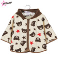 High Quality Baby girls Cotton Bear Cloak Baby boys Winter hooded Cloak brand Infant Baby Outwear Newborn Baby Shawls Jacket