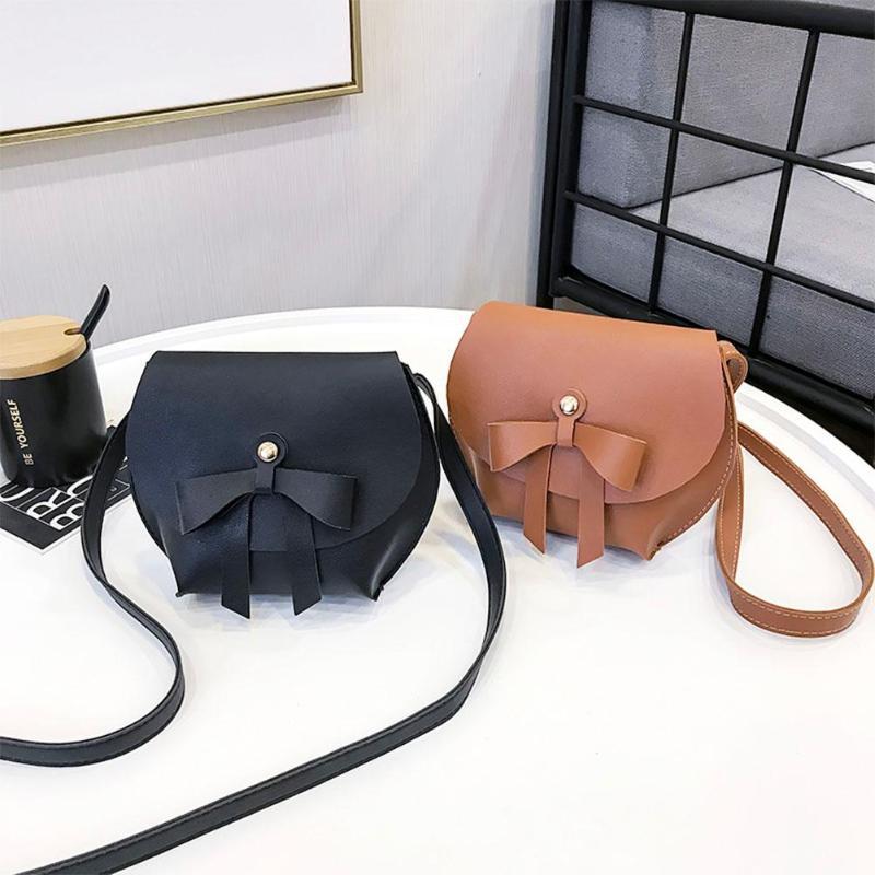 2018 Women Handbags Shoulder Bag Messenger Bag Korean Retro Bowknot Princess Mini Cute Crossbody Bag for Children Girls Kids Z95 felt z95 2014