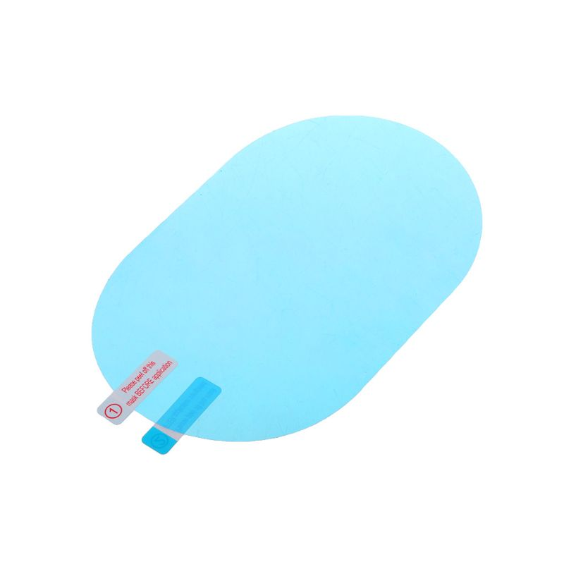 2 Pcs Car Rearview Mirror Protective Film Anti Fog Window Foils Rainproof Rear View Mirror Film Screen Protector Accessories