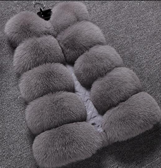 Gilet Manteau Fourrure Taille Faux Artificielle Vestes De Femmes Gilets Chaud D'hiver Moelleux 2019 La Plus Z319 Femme xwpgTC0Aq4