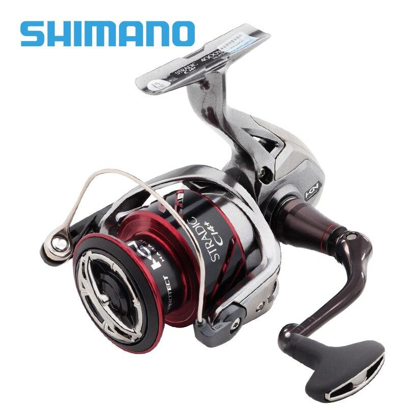 Bobine de pêche SHIMANO stradique CI4 + 1000 2500 C3000 4000 rapport de vitesse 5.0: 1/4. 8:1 traînée maximale 9 kg moulinets de pêche à profil bas