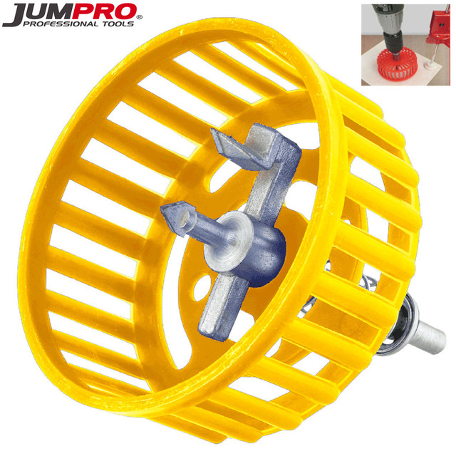 Hole Cutter for Ceramic Tile Jumpro New Professional 20-100mm Adjustable Circle Tile Cutter