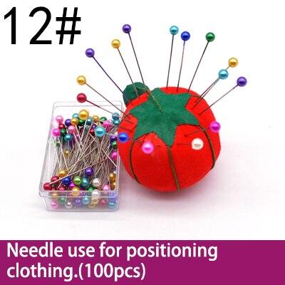 1 упаковка штифтов из нержавеющей стали для рукоделия, рукоделие, аксессуары для шитья - Цвет: NO 12