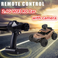4WD Electric RC Car Rock Crawler Remote Control Car Off load vehicle Radio Control or 720P WIFI FPV Real Time transmit RC Car