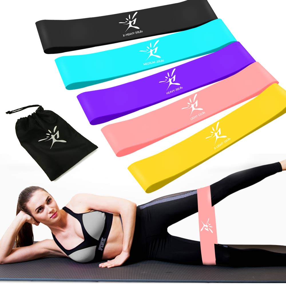 SeekNfind Resistance Bands Loop Elastic Band For Fitness Equipment Rubber Exercise