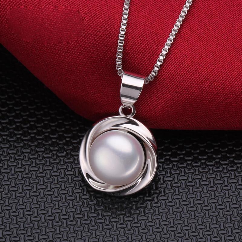 Nueva moda de agua dulce collar de perlas colgante de las mujeres, - Joyas - foto 5