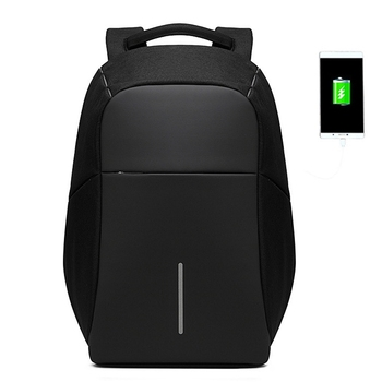 BAIBU Men Anti theft Backpack USB Charging 15.6 Laptop Backpack Multifunction Waterproof Travel Bagpack High Quality School bag