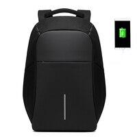 BAIBU Men Anti theft Backpack USB Charging 15.6 Laptop Backpack Multifunction Waterproof Travel Bagpack High Quality School bag