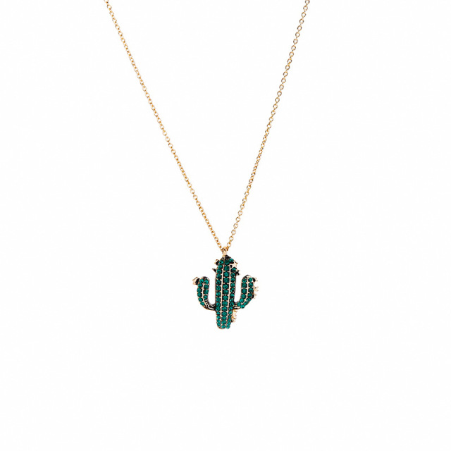 Joolim Cute Cactus Necklace...