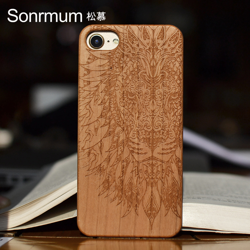 carved iphone case customized name carved wood phone cases for 10341
