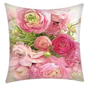 Image 3 - Print Pillowcase Polyester Sofa Car Cushion Cover Home Decor 45X45cm Throw Pillowcases Pillow Covers Home Decor Dropshipping