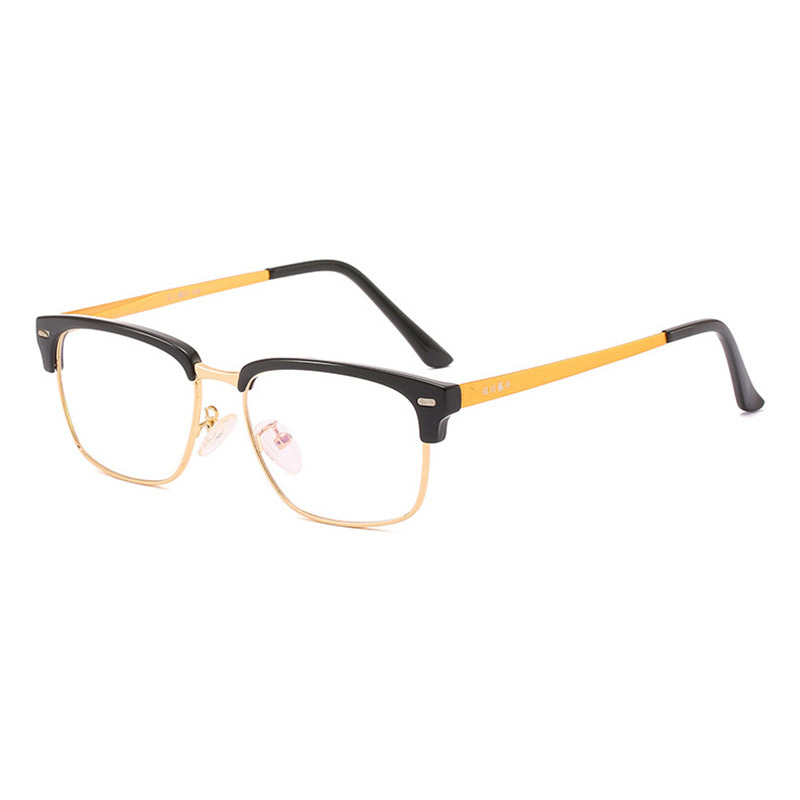 Prescription Eyewear for Men and Women Spectacles Full Rim Optical Glasses Frame Alloy Eyeglasses Super Light-weight 5234