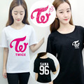 Hpeiypei KPOP K-POP Coreano Moda Duas Vezes Álbum MOMO Cheer Up Algodão Tshirt T Shirts T-shirt PT186