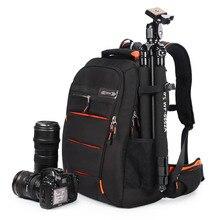 C3050Full Abierto Cámara Bolsa Hombres Mujeres Hombros Mochila de Gran Capacidad Mochila Para Cámara Digital Para Canon Nikon SLR Bolsa de La Cámara