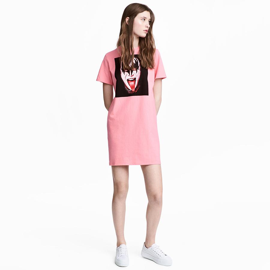 Online Get Cheap Camisa De Color Rosa Vestido De Las Mujeres ...