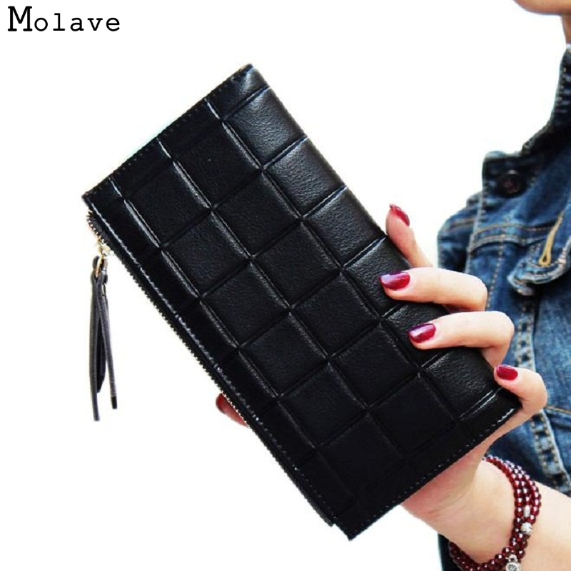 цены  Naivety New Long Wallet Fashion Women PU Leather Clutch Bag Portable Card Holder Zipper Purse Monedero 11S60927