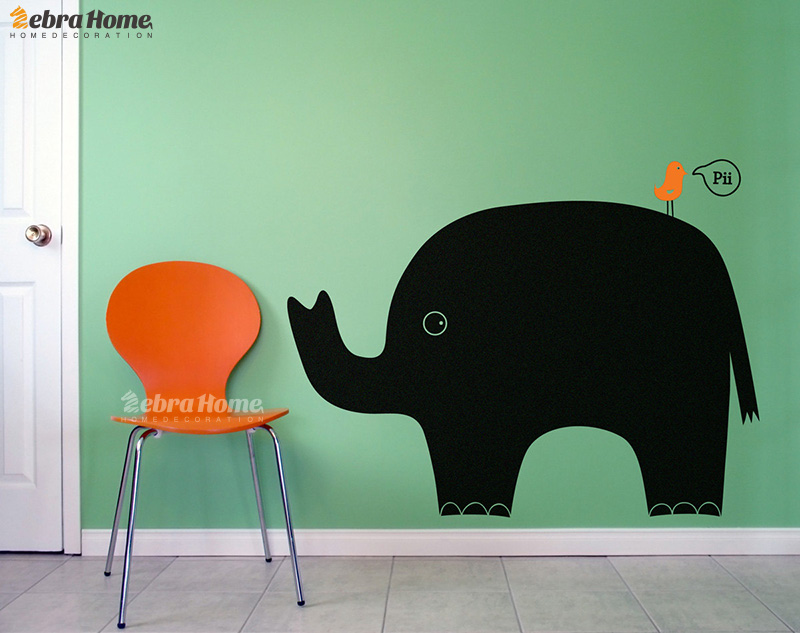 DIY Animal Blackboard Wall Stickers Graffiti Kids Nursery Rooms Home Decor Art Chalkboard Vinyl Mural Wallpaper Children Bedroom