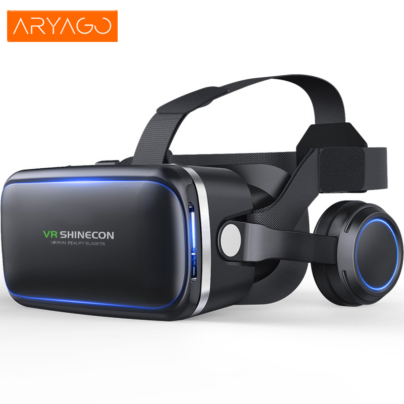 ARYAGO HOT Virtual Reality VR BOX 2.0 II 3D Glasses Xiaozhai VR cardboard Helmet 3D Video Headset Glasses for IOS Android