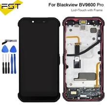 BV9600 LCD Touch Screen + 2248x1080 LCD Display + Rahmen Montage Ersatz Für Blackview BV9600/BV9600 Pro/BV9600E Android 9,0