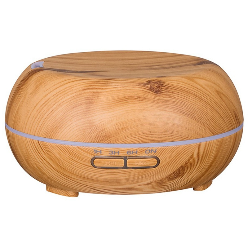 HOT!Round Ultrasonic Humidifier 300Ml Mist Maker Aroma Diffuser With Colorful Led Light Aromatherapy Diffuser Machine Us PlugHOT!Round Ultrasonic Humidifier 300Ml Mist Maker Aroma Diffuser With Colorful Led Light Aromatherapy Diffuser Machine Us Plug