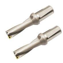 2D WC u drill quick dirll U DrillingWC 25mm-35mm Shallow Hole,indexable insert drills,u drills 2double