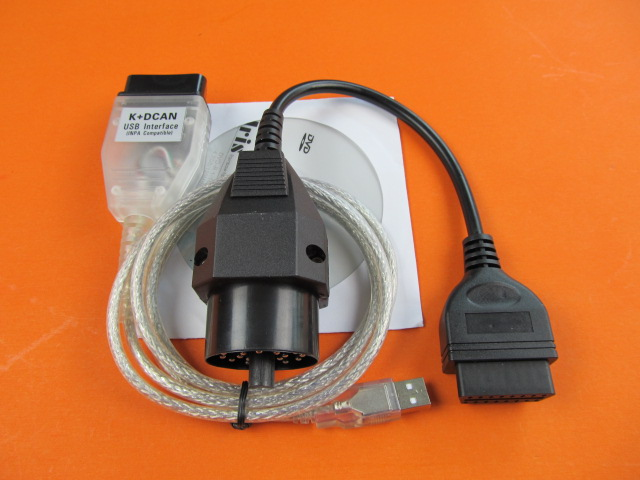 for bmw inpa k d-can ediabas usb with for bmw 20pin to 16pin obd2 diagnostic Interface for bmw hot selling image