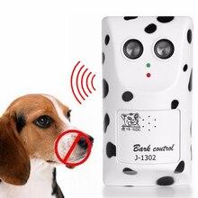 Кора Стоп собака ультразвуковое устройство против лая собака устройство Pet Тренер кора контроль обучающее устройство для собак
