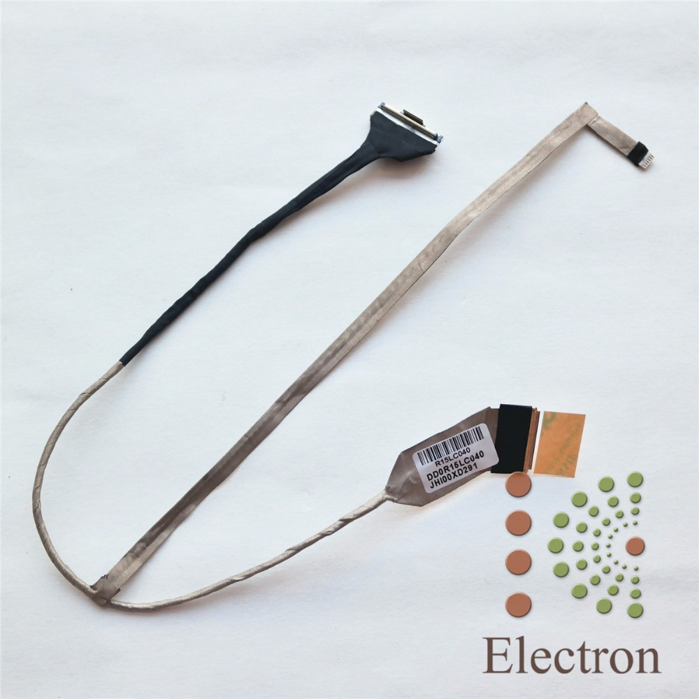 Generic New Laptop LCD Screen Cable for HP Pavilion G6 G6-1000 G6-1A50US G6-1A Series Replacement Part Number DD0R15LC040 new original laptop replacement lcd cable for hp pavilion dv6 6000 dv6 6100 dv6 6200 dv6z 6100 b2995050g00013 lcd lvds cable