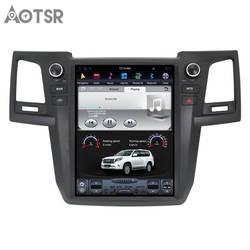 Aotsr Android 7,1 12,1 дюймов Tesla стиль автомобиля без DVD плеер gps навигация авто радио для Toyota Fortuner 2007-2015 мультимедиа