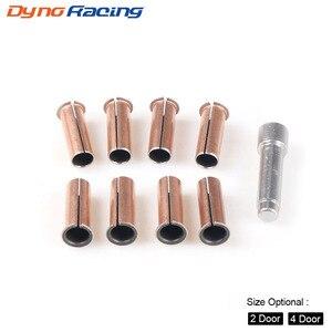 Image 2 - Door Hinge Bushing Pin Liners Delrin for Jeep Wrangler JKU 07 18 4 Door Kentrol and 2door kentrol