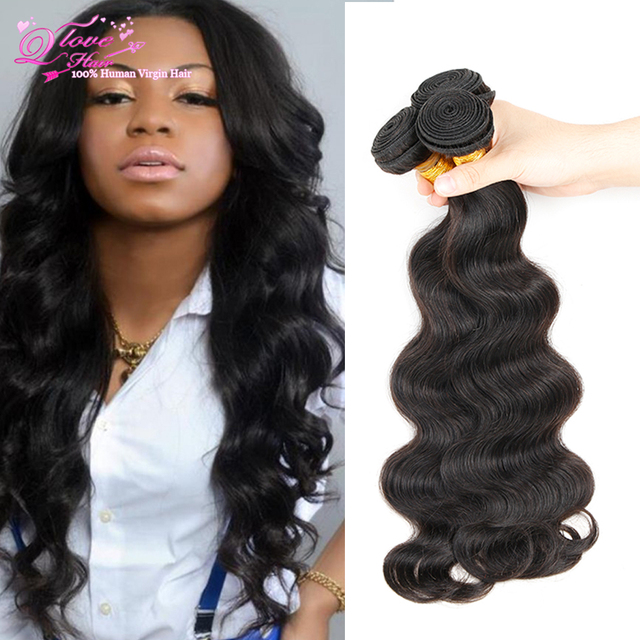 Virgin Russian Body Wave 3 Bundles 100 Human Hair Weave Brands