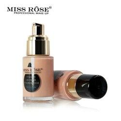 MISS ROSS 2017 New Liquid Face Base Foundation Make up Concealer Cream Oil-control After Foundation Primer 7 Colors Makeup